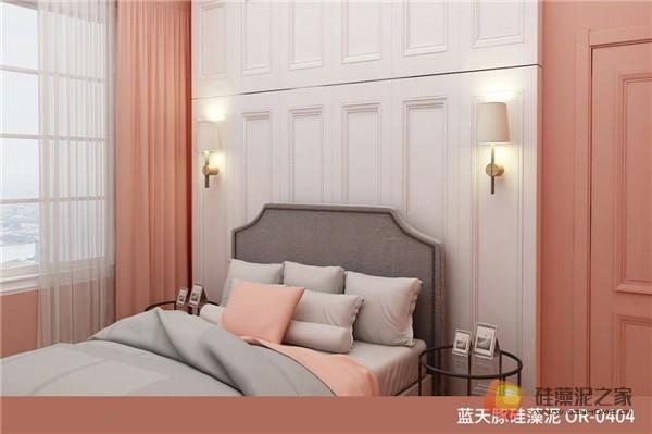 蓝天豚硅藻泥装修案例效果图:温馨、舒适、具有品质感的家居设计(图14)