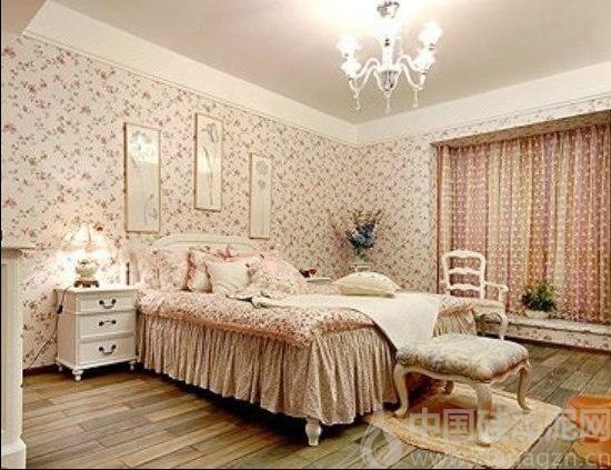 打造淳美田园风卧室 硅藻泥卧室装修效果图